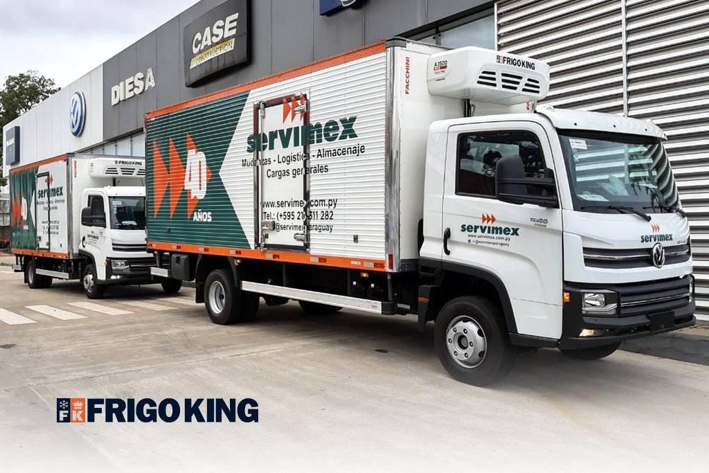 Frigo King vende equipamentos para transporte de vacinas no Paraguai